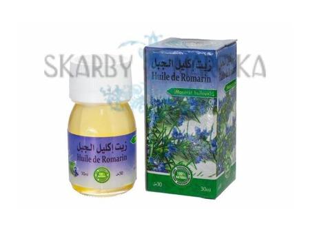 Naturalny OLEJEK ROZMARYNOWY 30 ml