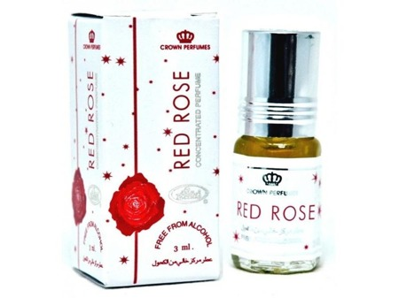 Perfumy w olejku  Al Rehab- 3 ml RED ROSE