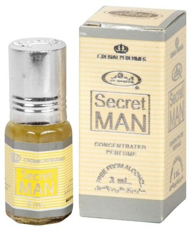 Perfumy w olejku  Al Rehab- 3 ml SECRET MAN